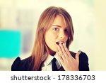 shocked businesswoman | Shutterstock . vector #178336703