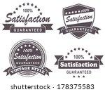 vintage label | Shutterstock . vector #178375583