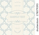 vintage background  antique... | Shutterstock .eps vector #178379393