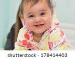 indoors portrait of smiling... | Shutterstock . vector #178414403