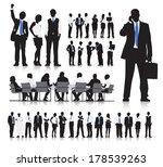 vector of business people in... | Shutterstock .eps vector #178539263
