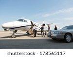 corporate people greeting...   Shutterstock . vector #178565117