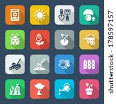 Colorful Icons Set For...