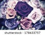 roses   vintage look | Shutterstock . vector #178633757