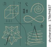 mathematical functions and... | Shutterstock .eps vector #178694837