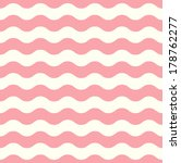 Wave Retro Seamless Pattern  ...