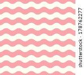 Wave Retro Seamless Pattern  ...