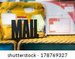 personal mail from postal... | Shutterstock . vector #178769327