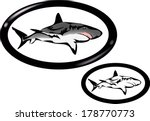 sharks trademark | Shutterstock .eps vector #178770773