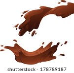 illustration of chocolate... | Shutterstock .eps vector #178789187