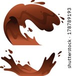 illustration of chocolate... | Shutterstock .eps vector #178789193
