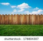 garden fence | Shutterstock . vector #178804307