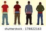 sagging pants | Shutterstock . vector #178822163