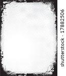 grunge border   vector | Shutterstock .eps vector #17882506