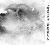 black abstract watercolor macro ...   Shutterstock . vector #178858367