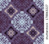 seamless persian vector... | Shutterstock .eps vector #178863227