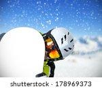 freerider portrait with... | Shutterstock . vector #178969373