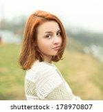 portrait of a beautiful girl | Shutterstock . vector #178970807