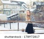 portrait of a beautiful girl | Shutterstock . vector #178972817