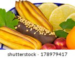 vase filled with cakes  sweets  ... | Shutterstock . vector #178979417
