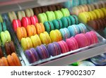 Set Of French Colorful Macaroons