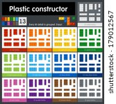 Perfect set of plastic parts. Every kit detail is grouped. 13 colors. Enjoy!