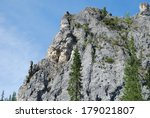 cliffs on the banks of the... | Shutterstock . vector #179021807