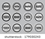 collection award sticker for... | Shutterstock . vector #179030243