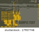 vector grunge background | Shutterstock .eps vector #17907748