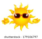 3d render of the sun | Shutterstock . vector #179106797