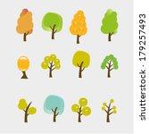 spring  winter  autumn  summer... | Shutterstock .eps vector #179257493