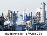 industrial plant | Shutterstock . vector #179286233