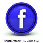 letter f. 3d render...   Shutterstock . vector #179306513