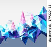 infographics with abstract... | Shutterstock .eps vector #179320433