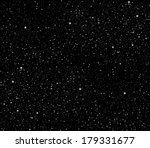 Space with stars vector - stock vector