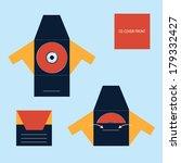cd dvd blu ray envelope | Shutterstock .eps vector #179332427
