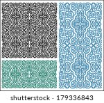 seamless lace pattern  design... | Shutterstock .eps vector #179336843
