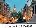 street view of trafalgar square ... | Shutterstock . vector #179344037