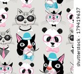 Graphic Seamless Pattern Of...