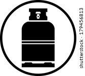 gas bottle vector icon | Shutterstock .eps vector #179456813