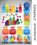infographic web element set | Shutterstock .eps vector #179499653