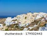 santorini island  greece  | Shutterstock . vector #179502443