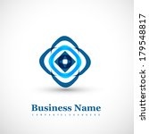 business abstract creative icon ... | Shutterstock .eps vector #179548817
