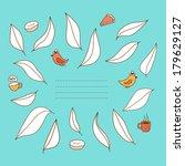 cute spring vector illustration.... | Shutterstock .eps vector #179629127