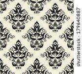 seamless wallpaper.damask... | Shutterstock .eps vector #179640887