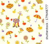 seamless baby background  | Shutterstock . vector #179648777