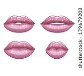lips   Shutterstock .eps vector #179679203