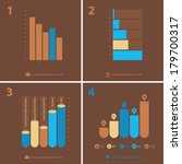 flat ui design infographic...