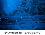 motherboard details  computer...   Shutterstock . vector #179831747