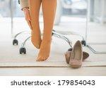 closeup on business woman in... | Shutterstock . vector #179854043